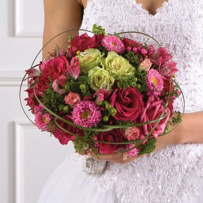 Wedding Flowers, Reception florals, bridal bouquets and wedding ceremony flowers from Olney's Flowers of Rome