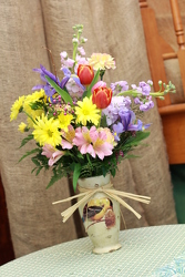 Happy Easter- Bird Vase from Olney's Flowers of Rome in Rome, NY