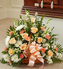 Thoughts & Prayers™ Peach, Orange, & White from Olney's Flowers of Rome in Rome, NY