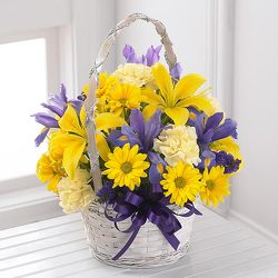 The FTD Spirit of Spring Basket from Olney's Flowers of Rome in Rome, NY
