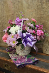 Basket Of Love from Olney's Flowers of Rome in Rome, NY