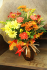 Bright Fall Vase  from Olney's Flowers of Rome in Rome, NY