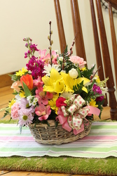 Easter Basket from Olney's Flowers of Rome in Rome, NY