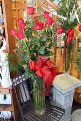 1 Dzn 100cm Roses from Olney's Flowers of Rome in Rome, NY