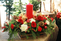 Joyous Noel from Olney's Flowers of Rome in Rome, NY