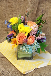 Modern Spring Bouquet from Olney's Flowers of Rome in Rome, NY