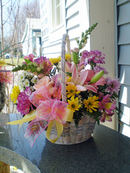 Mother's Love Basket from Olney's Flowers of Rome in Rome, NY