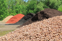 Bulk Mulch from Olney's Flowers of Rome in Rome, NY
