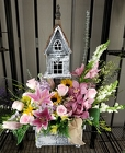 Orchid Delight Bird House from Olney's Flowers of Rome in Rome, NY