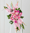 The FTD® Sweet Farewell™ Standing Spray from Olney's Flowers of Rome in Rome, NY