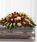 The FTD Sincerity(tm) Casket Spray from Olney's Flowers of Rome in Rome, NY