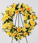 The FTD® Ring of Friendship™ Wreath from Olney's Flowers of Rome in Rome, NY