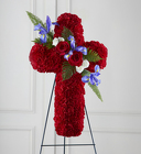 The FTD® Living Cross™ Easel from Olney's Flowers of Rome in Rome, NY