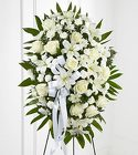 The FTD® Exquisite Tribute™ Standing Spray from Olney's Flowers of Rome in Rome, NY