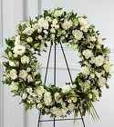 The FTD® Splendor™ Wreath from Olney's Flowers of Rome in Rome, NY
