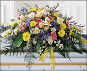 FTD Heavenly Scented Casket Spray from Olney's Flowers of Rome in Rome, NY