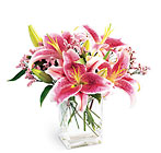 FTD Pink Lily Bouquet from Olney's Flowers of Rome in Rome, NY