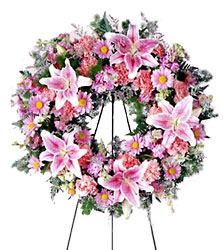 FTD Loving Remembrance Wreath from Olney's Flowers of Rome in Rome, NY