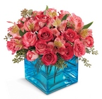 Share My World Bouquet - Spray Roses & Alstromeria from Olney's Flowers of Rome in Rome, NY