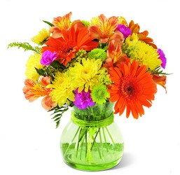 FTD Because You're Special Bouquet - Orange & Yellow Vase from Olney's Flowers of Rome in Rome, NY