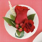Mixed Red Boutonniere from Olney's Flowers of Rome in Rome, NY
