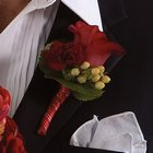 Red Rose Boutonniere from Olney's Flowers of Rome in Rome, NY
