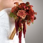 Bouquet  with Hanging Amaranthus and Bamboo from Olney's Flowers of Rome in Rome, NY