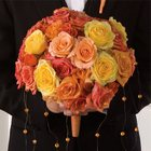 Mixed Rose Bridal Bouquet from Olney's Flowers of Rome in Rome, NY
