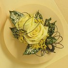 Yellow Rose Corsage from Olney's Flowers of Rome in Rome, NY