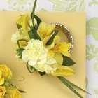 Yellow Mixed Wristlet Corsage from Olney's Flowers of Rome in Rome, NY