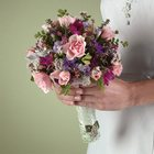 Mixed Bridesmaid Bouquet from Olney's Flowers of Rome in Rome, NY