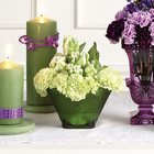 Green Bowl Altar Arrangement from Olney's Flowers of Rome in Rome, NY