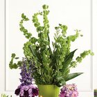 Tall Green Vase Altar Arrangement from Olney's Flowers of Rome in Rome, NY