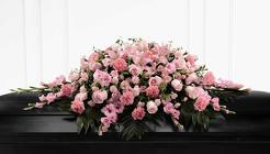 The FTD Sweetly Rest(tm) Casket Spray from Olney's Flowers of Rome in Rome, NY
