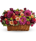 Burst of Beauty Basket from Olney's Flowers of Rome in Rome, NY