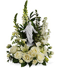 Teleflora's Garden of Serenity Bouquet from Olney's Flowers of Rome in Rome, NY