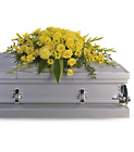 Graceful Grandeur Casket Spray from Olney's Flowers of Rome in Rome, NY