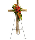 River Cane Cross from Olney's Flowers of Rome in Rome, NY