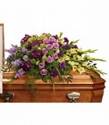 Reflections of Gratitude Casket Spray from Olney's Flowers of Rome in Rome, NY