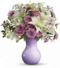 Teleflora's Starlight Serenade Bouquet - Lavender & White Va from Olney's Flowers of Rome in Rome, NY