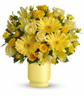 Always Sunny By Teleflora from Olney's Flowers of Rome in Rome, NY