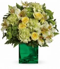 Teleflora's Emerald Elegance Bouquet from Olney's Flowers of Rome in Rome, NY