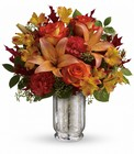 Teleflora's Fall Blush Bouquet from Olney's Flowers of Rome in Rome, NY