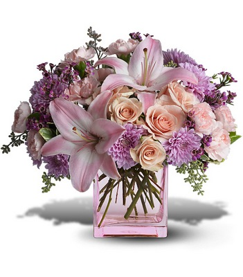 Olneys flowers of rome ny rome new york flower shop possibly pink pink pastel cube from olneys flowers of rome in rome ny click here for larger image possibly pink pink pastel cube mightylinksfo