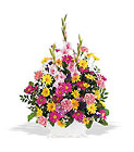 Spring Remembrance Basket from Olney's Flowers of Rome in Rome, NY
