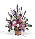 Lavender Reminder Basket from Olney's Flowers of Rome in Rome, NY