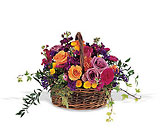 Garden Gathering Basket from Olney's Flowers of Rome in Rome, NY