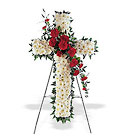 Hope and Honor Cross from Olney's Flowers of Rome in Rome, NY