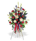Patriotic Spirit Spray from Olney's Flowers of Rome in Rome, NY