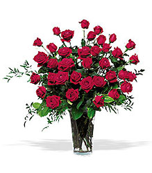 Three Dozen Red Roses from Olney's Flowers of Rome in Rome, NY